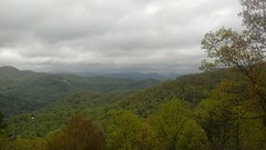 Up on a mountaintop.