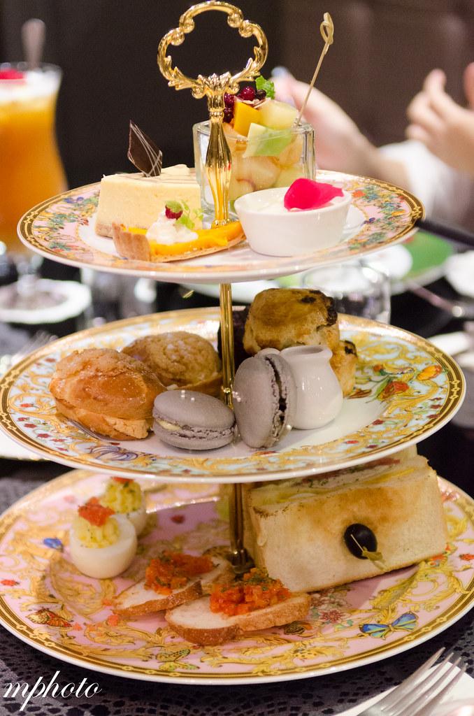 玫瑰夫人 采采食茶 『許小M台中美食分享』