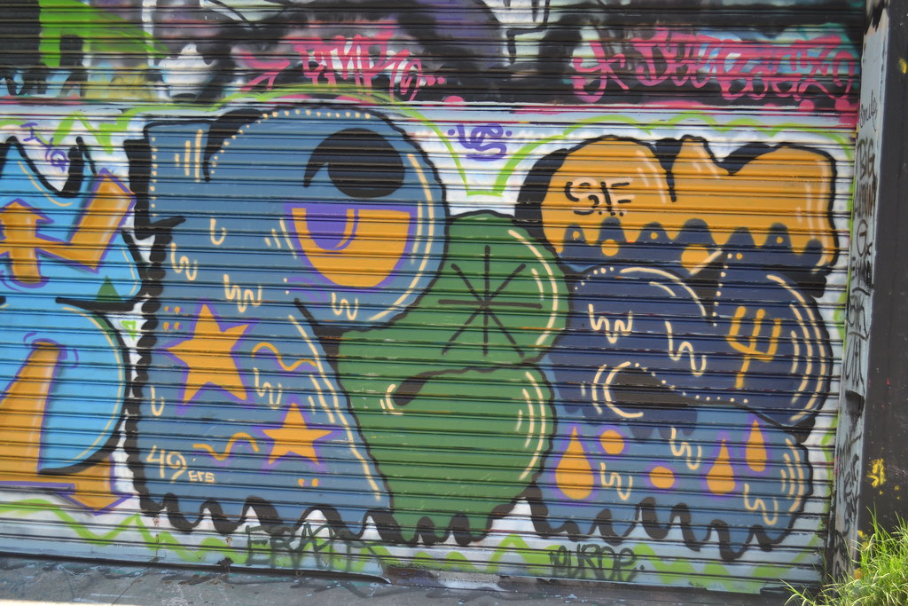 PEZ, US, Graffiti, Street Art, San Francisco