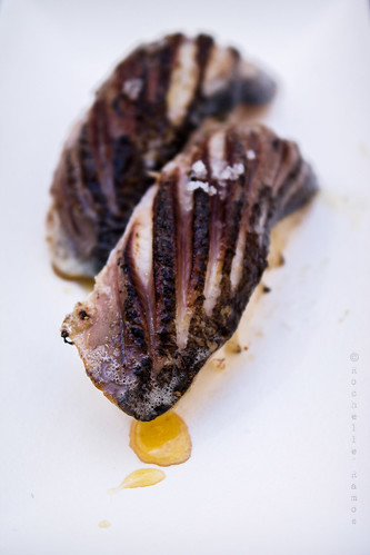 Sea Me - Niguiri de sardinha assada com flor de sal