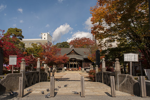 Yohashira Shrine front view
