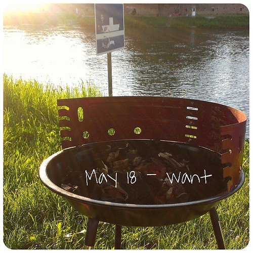 May 18: want .. #BBQ .. #fmsphotoaday