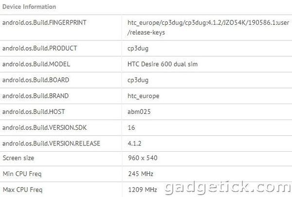 HTC Desire 200 и Desire 600