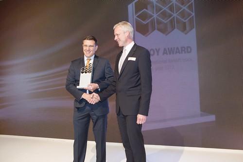 Crown Receiving IFOY Award