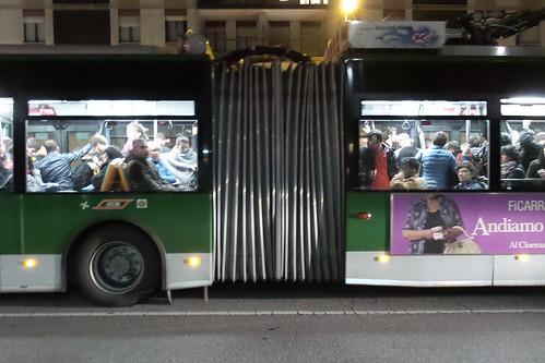 In mezzo al #bus della novanta