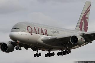 Qatar Airways Airbus A380-861 cn 145 F-WWAL // A7-APC