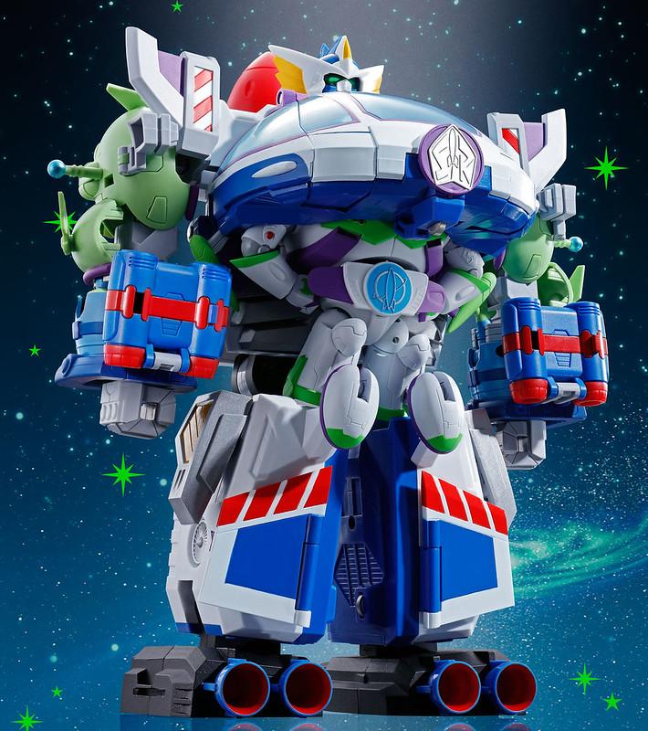 玩具總動員超合金超合體第二彈! BANDAI 超合金 「太空騎警.機械巴斯號」亮相!所向無敵的夢幻大合體!