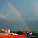 a room with a rainbow.... by Jinky Dabon