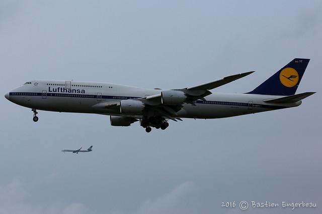 D-ABYT - Boeing 747-830 - Lufthansa (Retro livery) - CN 37844/1513