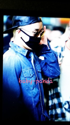 Big Bang - Beijing Airport - 05jun2015 - Seung Ri - Baby Panda - 02