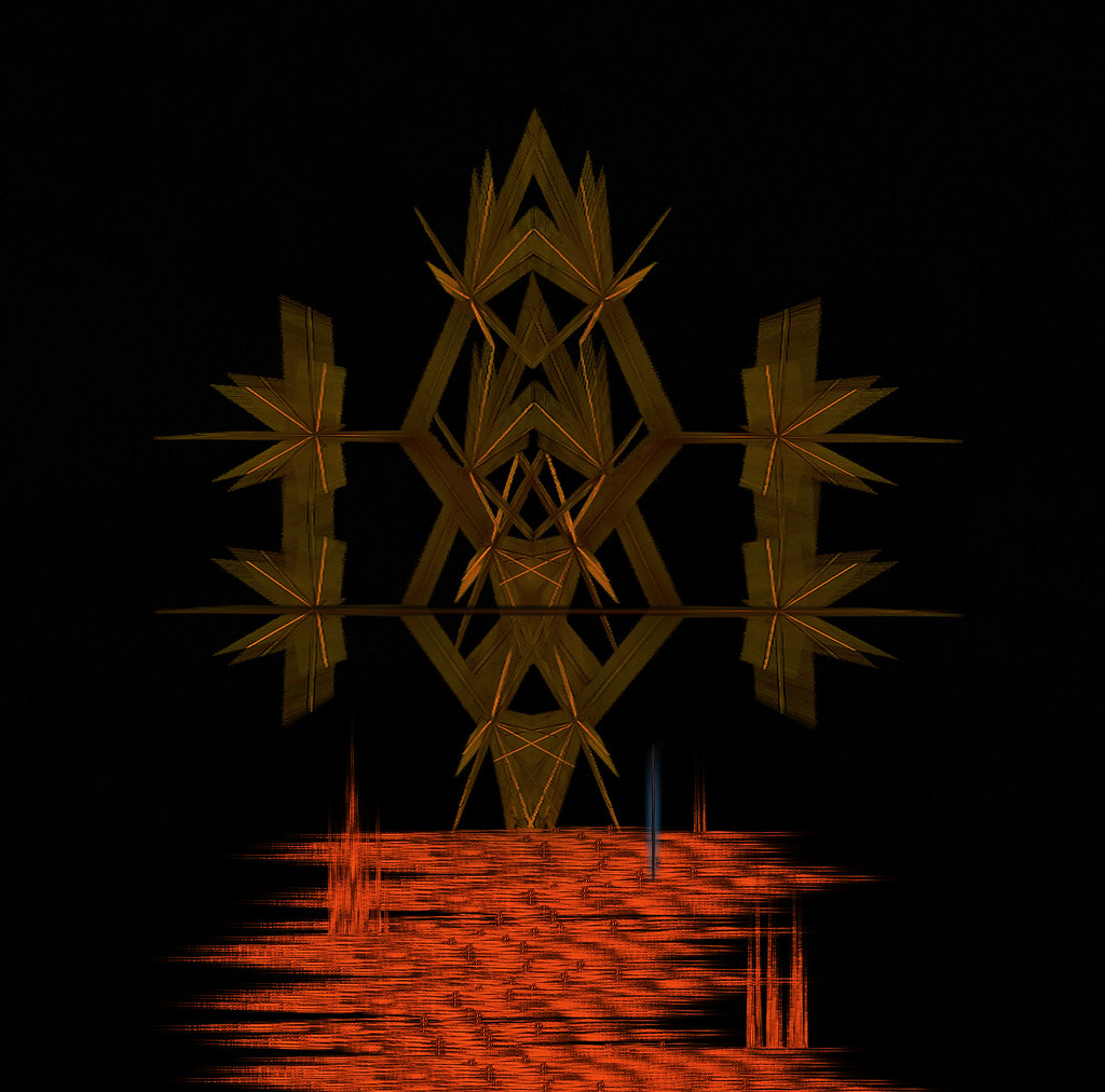 Viking Warrior Abstract Art Colo Askew Flickr