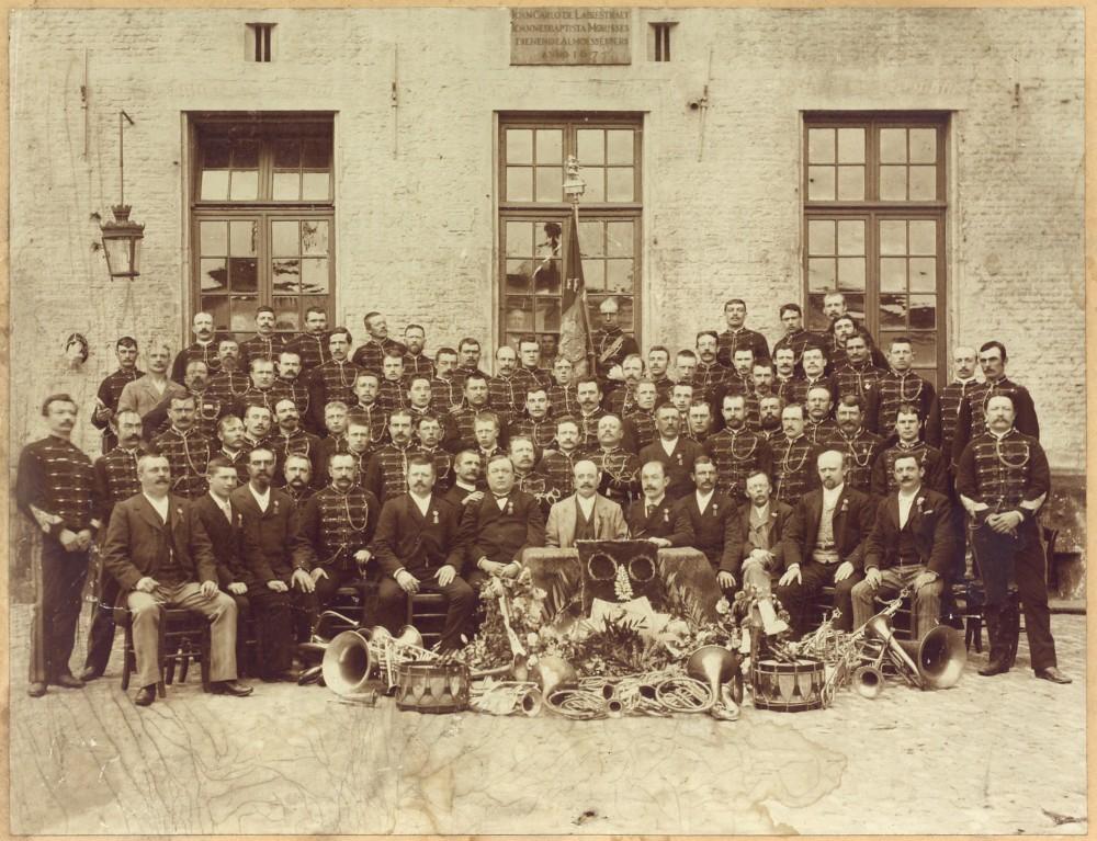 Fanfare De Ware Vrienden, Antwerpen 1894