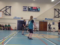 Girls and Boys V'ball big wins!