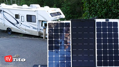 Video - Flexible Solar Panels for RV
