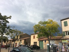 Thunderstorm approaches - Photo of Aups
