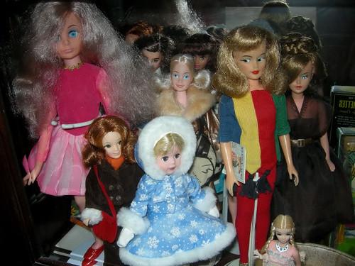 Uneeda Clover, Love doll, Misty Glamour, Tressy, Dinah