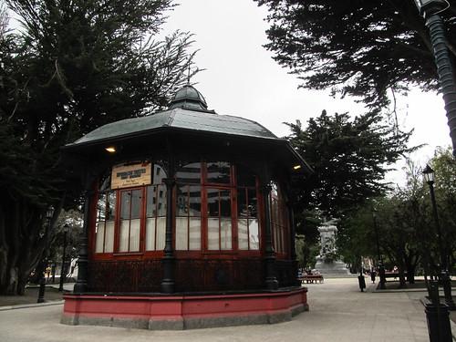 Punta Arenas: la Plaza de Armas