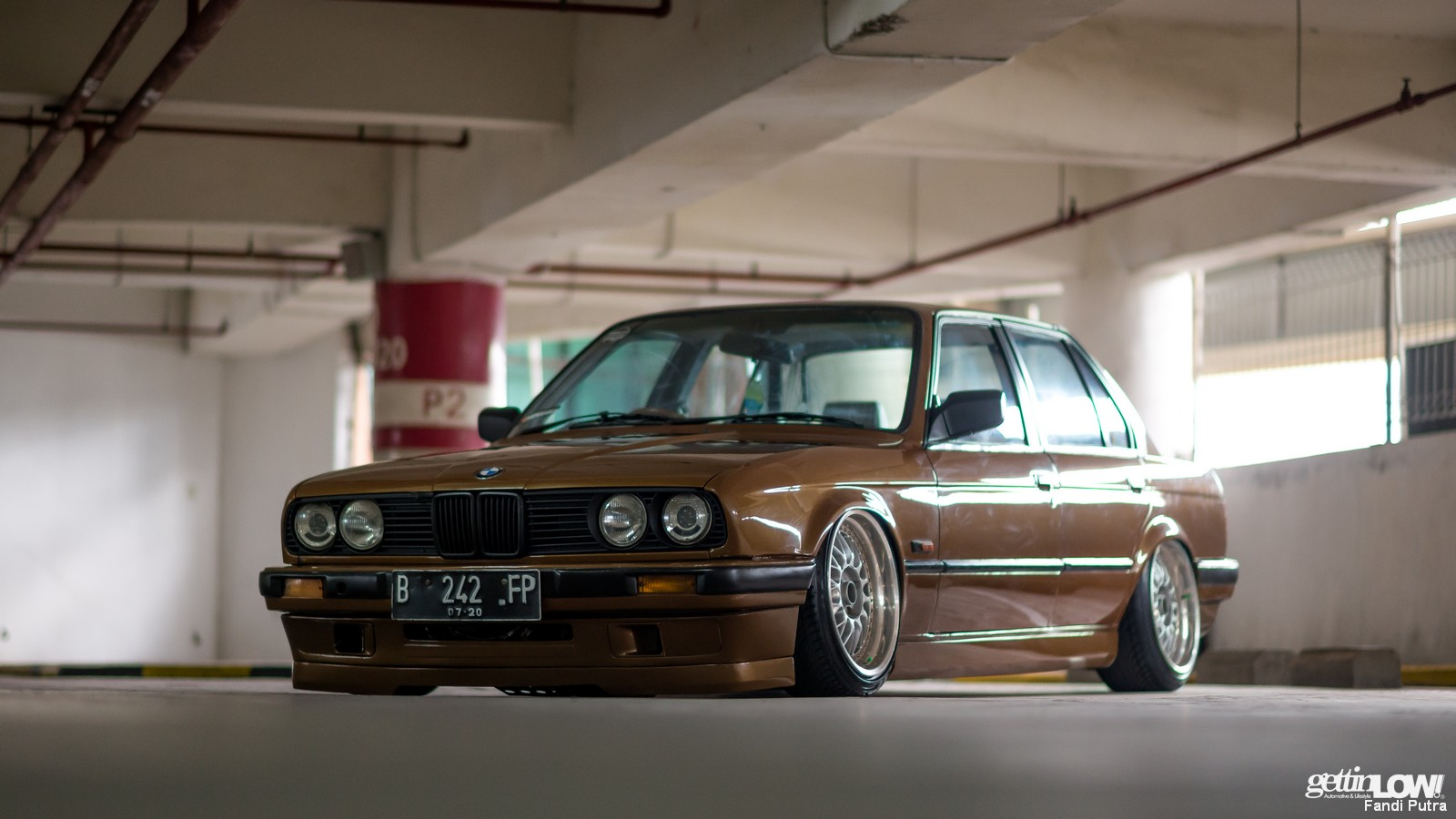 Gettinlow Tataq Andhika Bagged 1991 Bmw 318i E30 M40