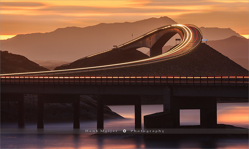 The Atlantic Ocean Road - Norway