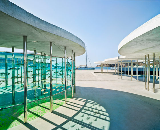 Port of Cartagena, Spain. Architcture: Martin Lejarraga. Photo: David Frutos