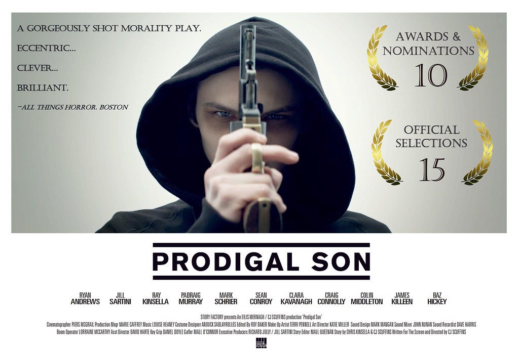 Prodigal Son Poster - May 2013