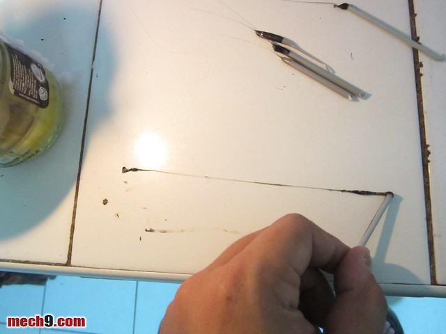 creating antenna wire from an old sprue
