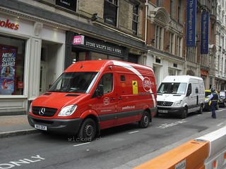 Post Office Mercedes Sprinter VK13 DGV (513)