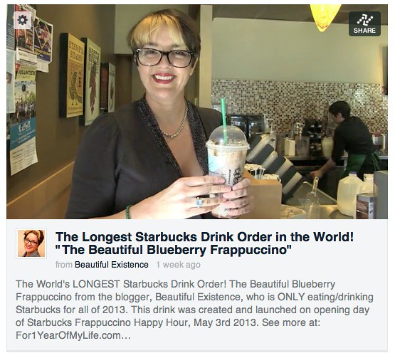 The longest starbucks drink order in the world flickr for Starbucks in the world