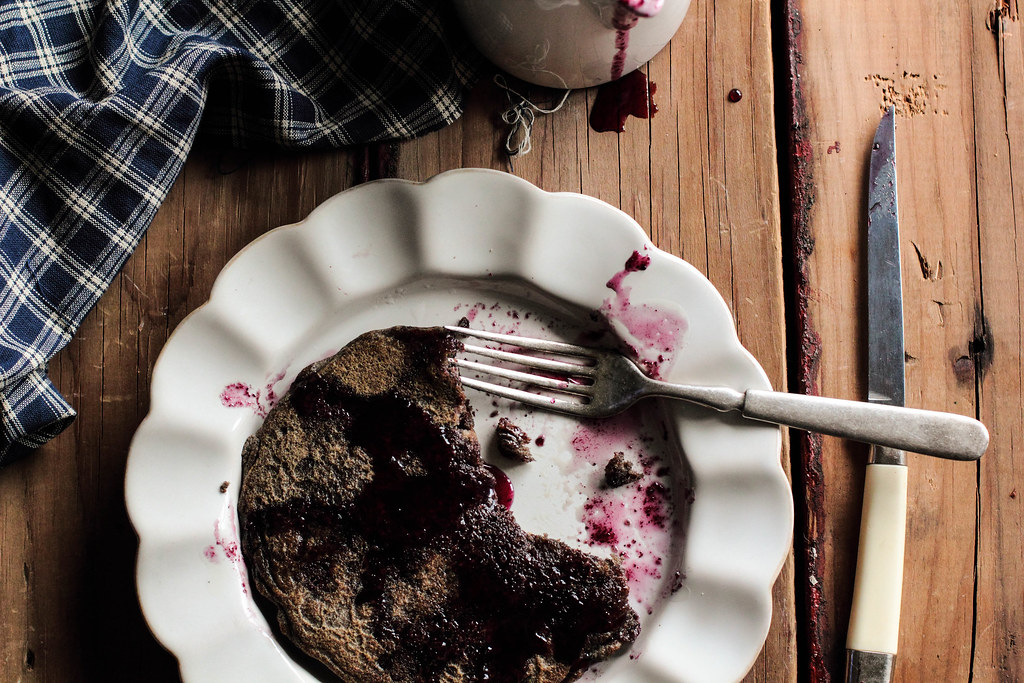 Buckwheat Chocolate Chip Pancakes