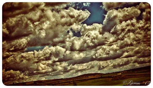 Campos de nubes en Tresjuncos