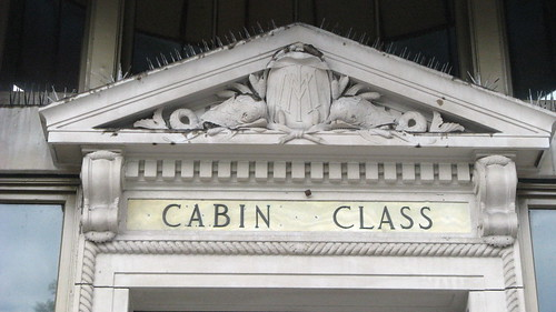 Cabin Class Above Doorway