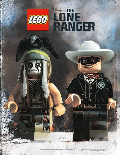 LEGO Lone Ranger Movie Poster