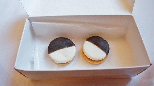 Black & White Cookies (Savory)