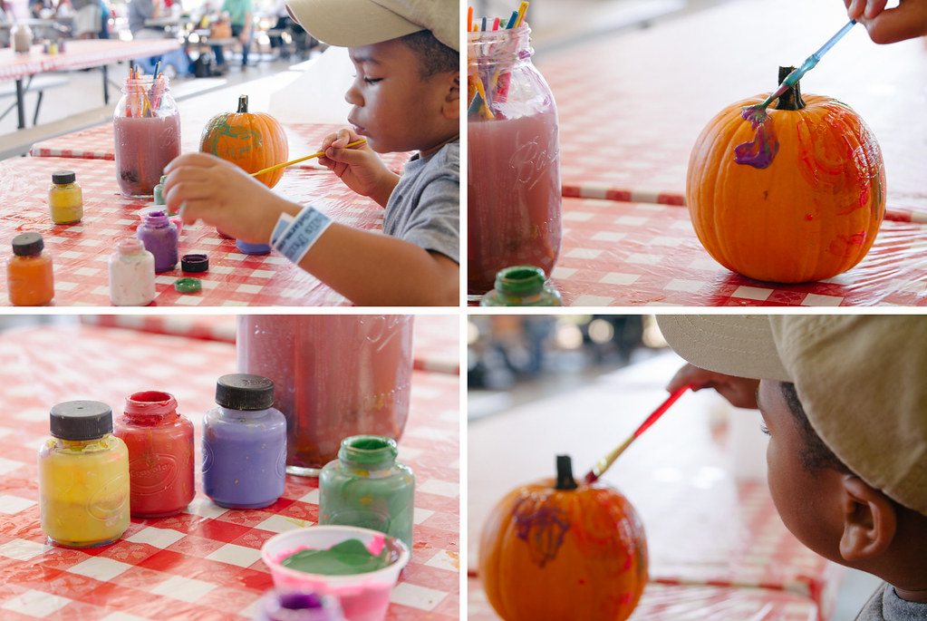 pumpkin paints x 4