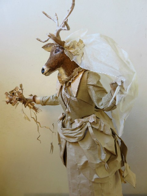 Runaway Bride - Deer Paper Scupture