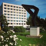 Resturlaub von einer Stunde in Hof. Haha. #denkmal #hof #kunst #architecture