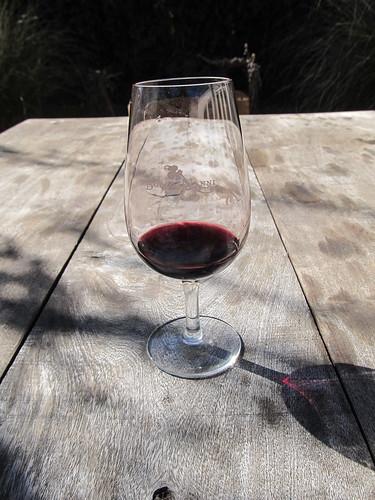 Cafayate: dégustation du dernier vin, le syrah.