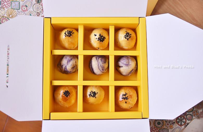 台中品麵包中秋月餅禮盒34