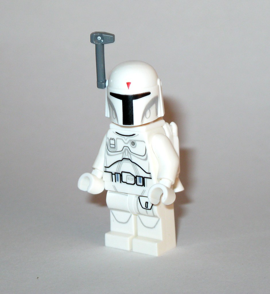 Prototype Boba Fett Minifigure From Lego Star Wars Character