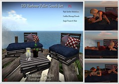 DD Harbour Pallet Couch Set PG Vendor