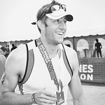 Des Moines Triathlon - Finish