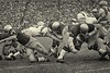 Up the middle, Notre Dame-Navy game, South Bend, Ind., Nov. 4, 1967