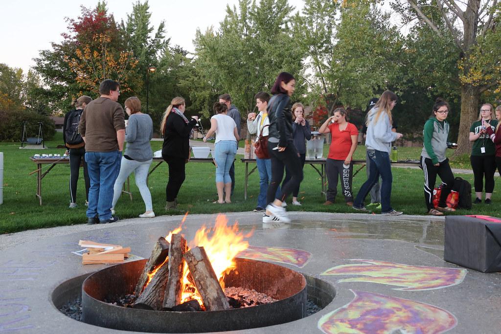 New Phoenix Park fire pit creates community, adds artistic ...