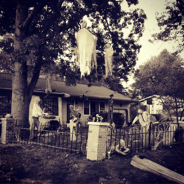 Halloween #halloween #halloweendecorations #bloomington