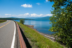 Ashokan Reservoir and Dike Road