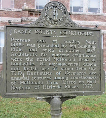 kentucky ky courthouseextras caseycounty liberty kentuckyhistoricalmarkers northamerica unitedstates us