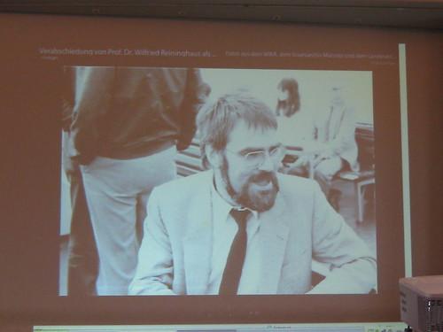 Verabschiedung Prof. Wilfried Reininghaus