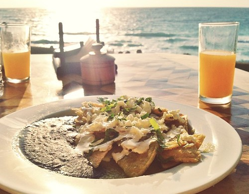 Sunrise chilaquiles