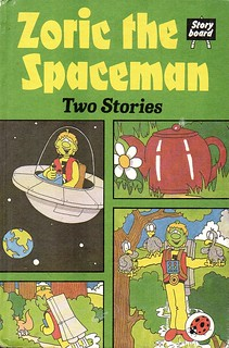 ZORIC THE SPACEMAN Two Stories a Ladybird Book from Series 815. First Edition Matt Hardback 1983