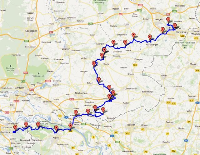 route-batavierenrace